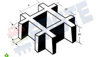 Параметры решетчатый настил ECO-FR