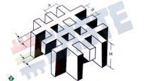 Размеры решетчатый настил ECO-FR